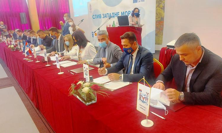 Споразум градова и општина у сливу Западне Мораве