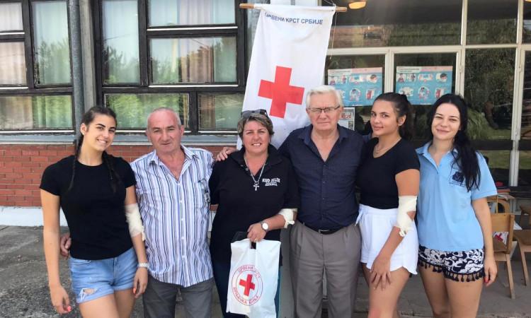 Акција добровољног давања крви у Вранешима